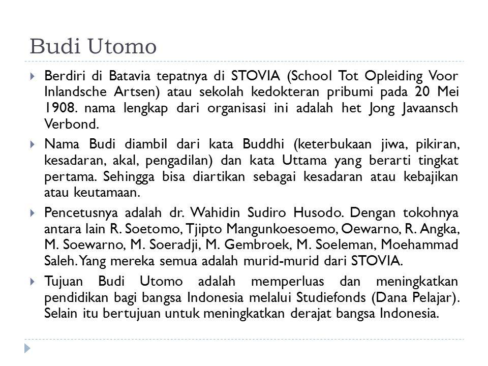 Budi Utomo