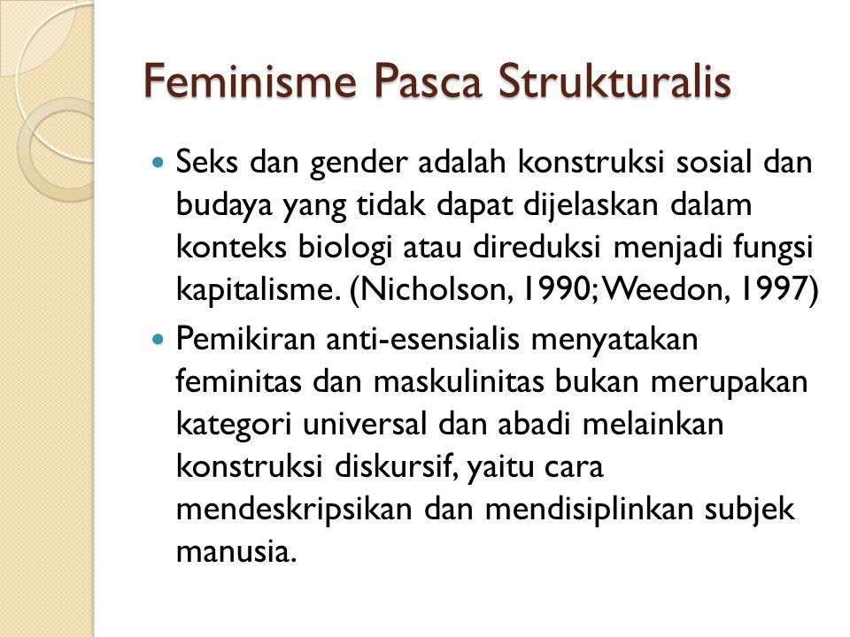 Feminisme Pasca Strukturalis