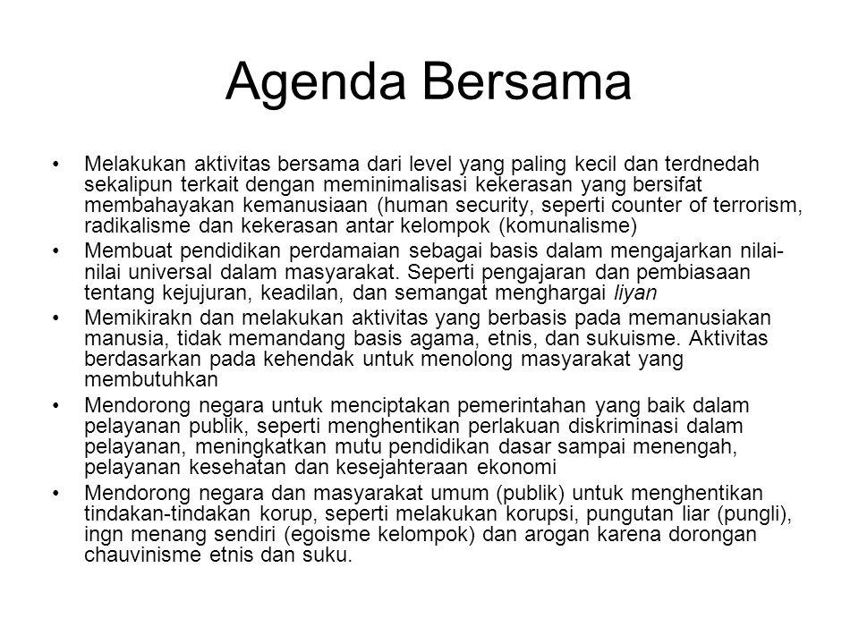 Agenda Bersama