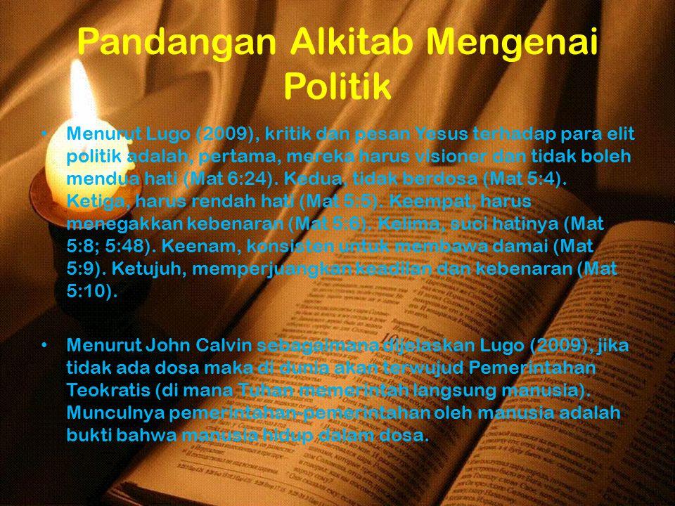 Pandangan Alkitab Mengenai Politik
