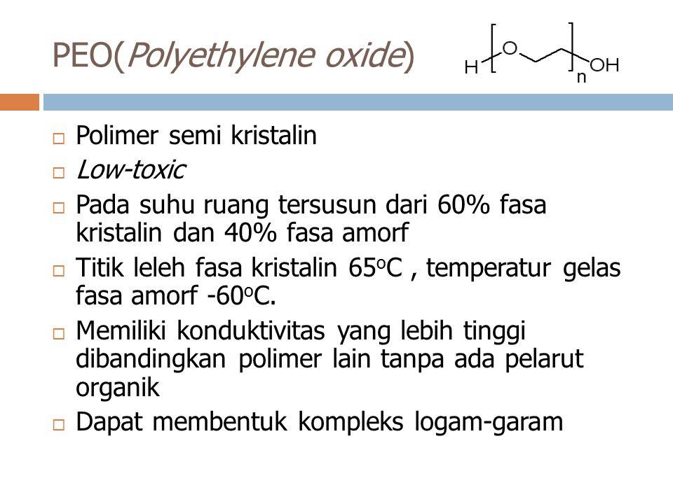 PEO(Polyethylene oxide)