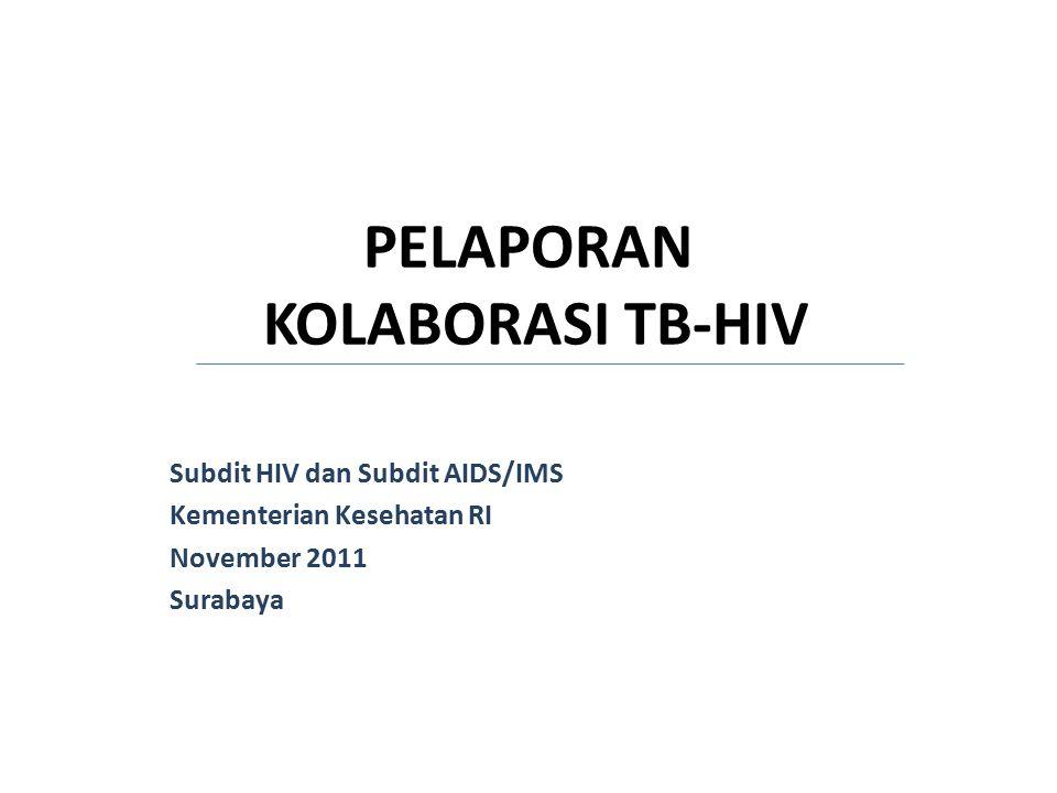PELAPORAN KOLABORASI TB-HIV