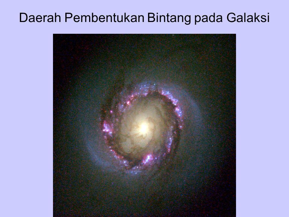 Daerah Pembentukan Bintang pada Galaksi