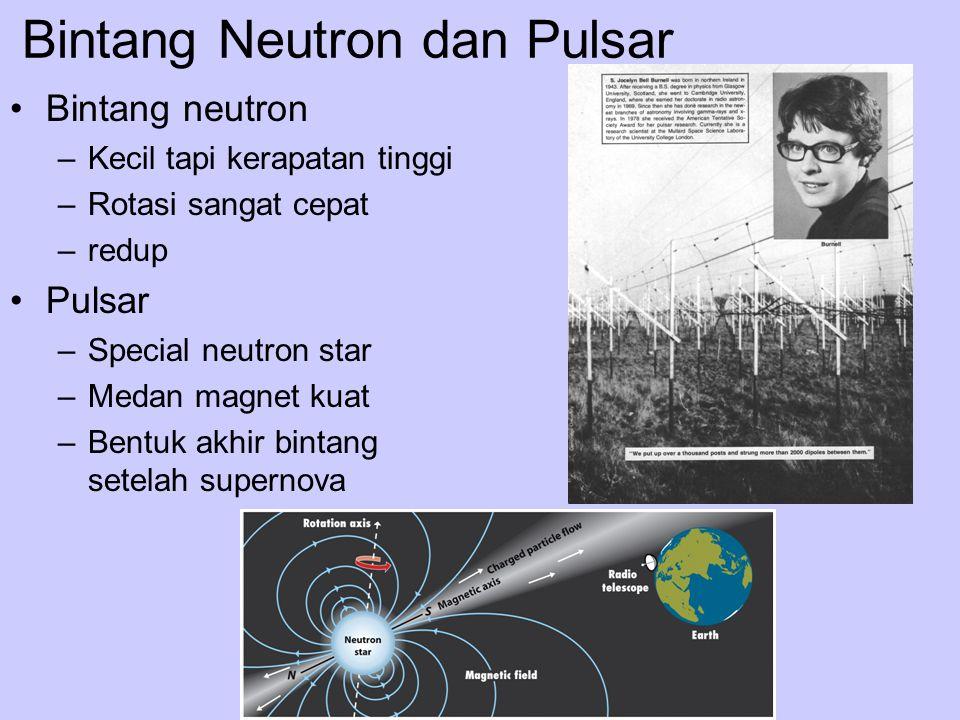 Bintang Neutron dan Pulsar