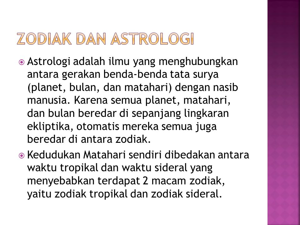 Zodiak dan astrologi
