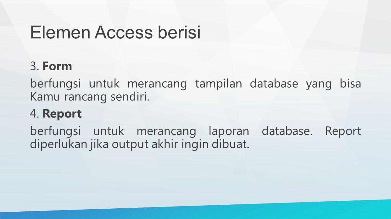 Elemen Access berisi