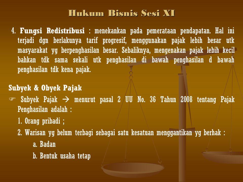 Hukum Bisnis Sesi XI
