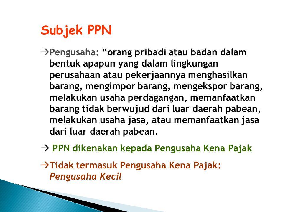 Subjek PPN