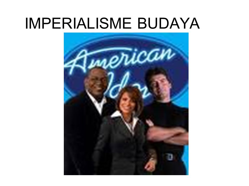 IMPERIALISME BUDAYA
