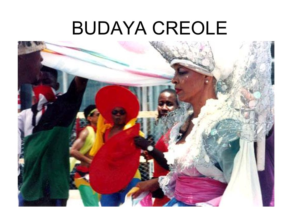 BUDAYA CREOLE