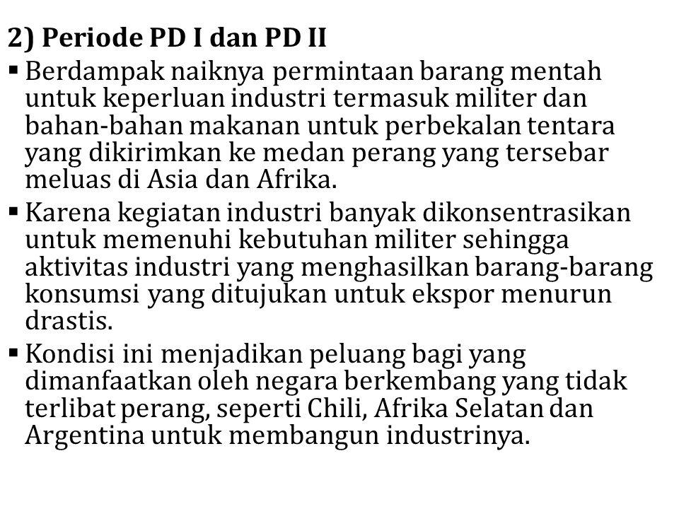 2) Periode PD I dan PD II