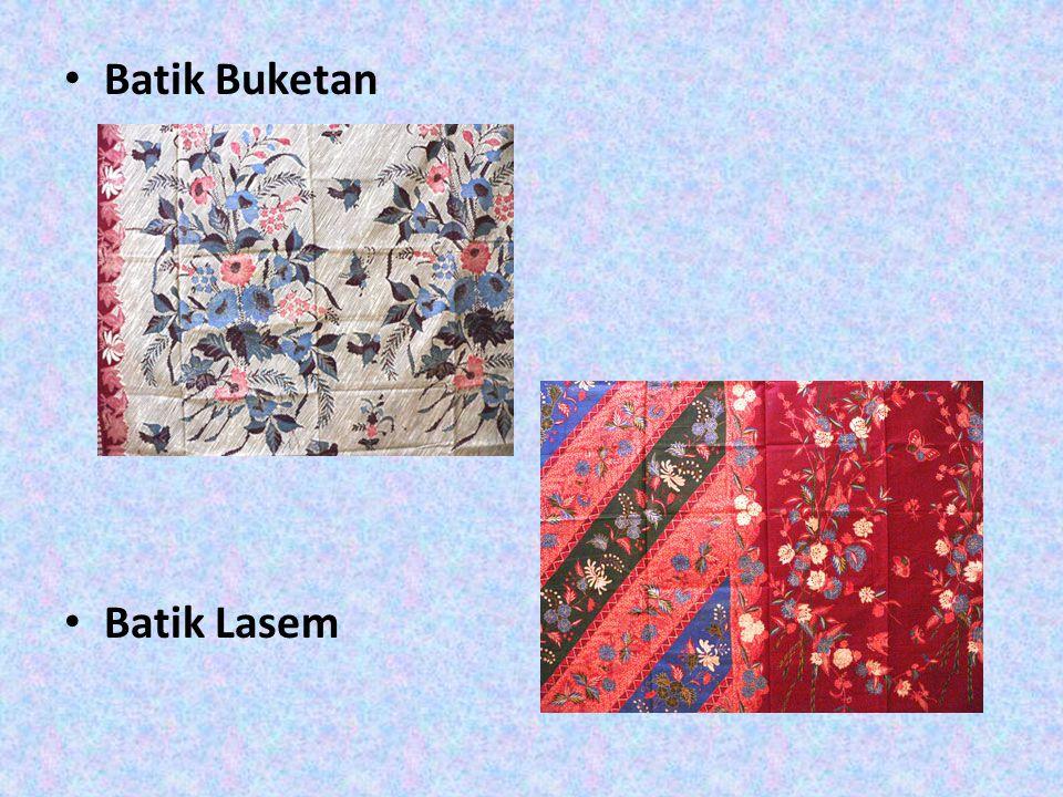Batik Buketan Batik Lasem