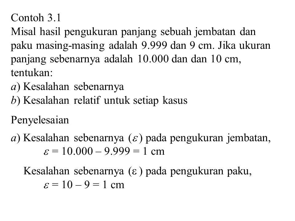 Contoh 3.1