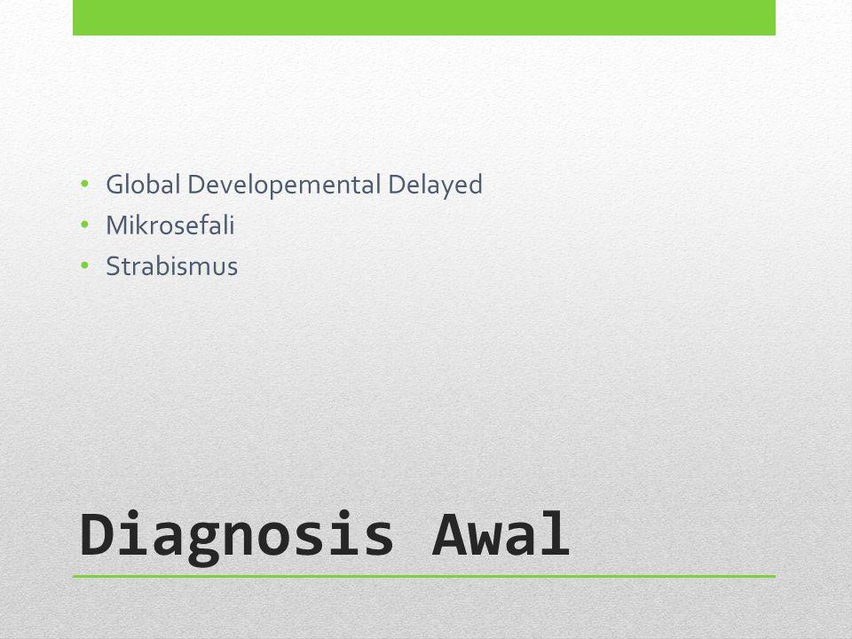 Global Developemental Delayed