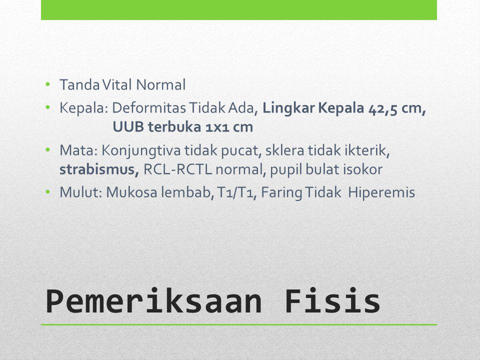 Pemeriksaan Fisis Tanda Vital Normal