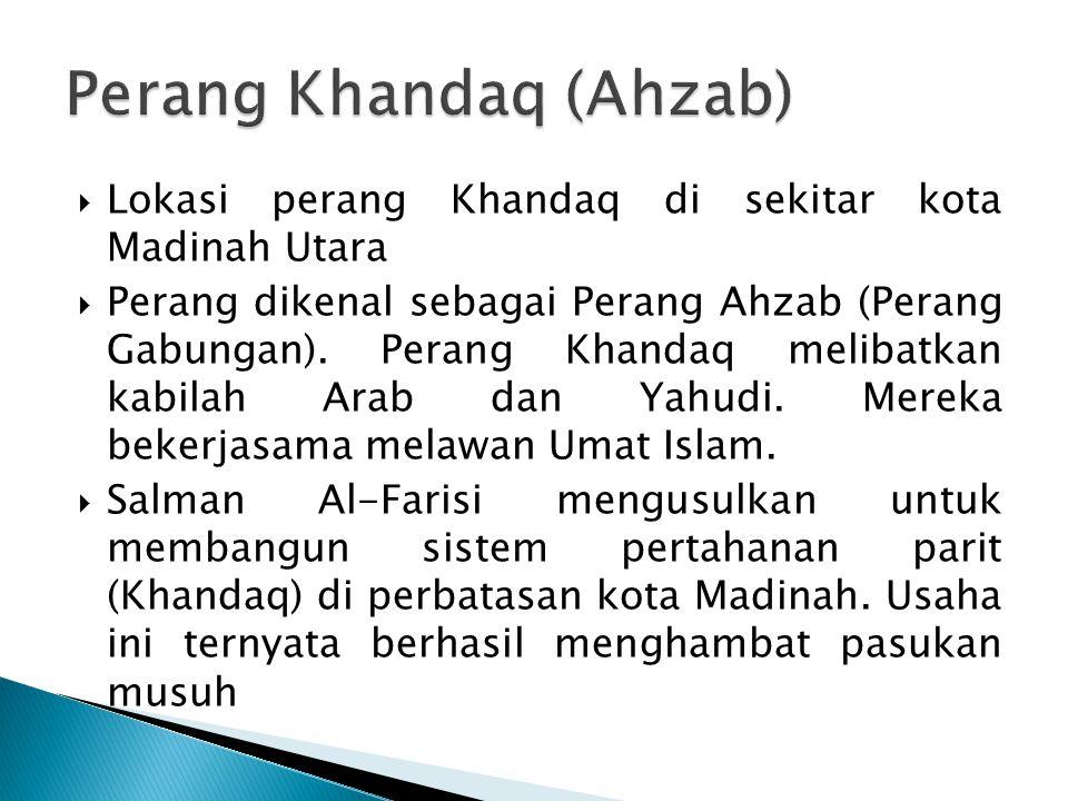 Perang Khandaq (Ahzab)