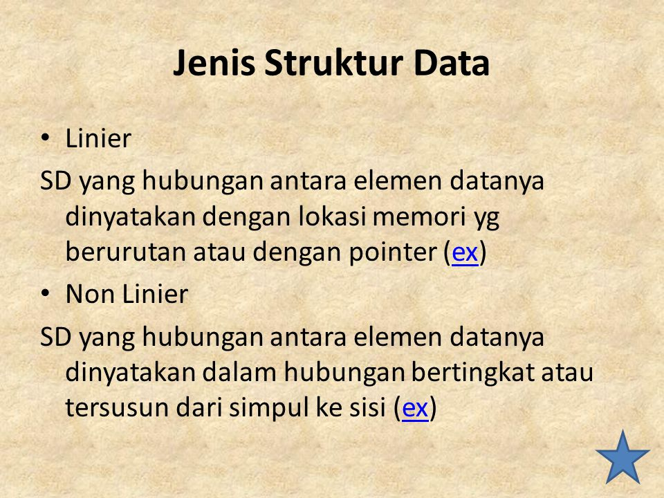 Jenis Struktur Data Linier