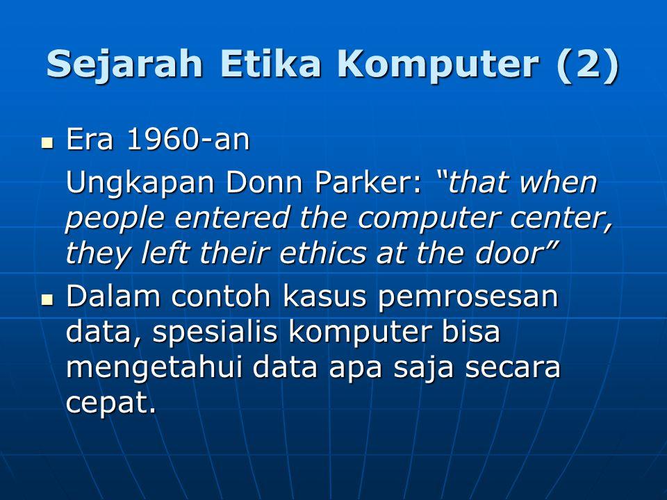 Sejarah Etika Komputer (2)