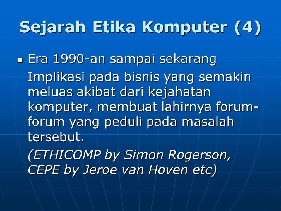 Sejarah Etika Komputer (4)