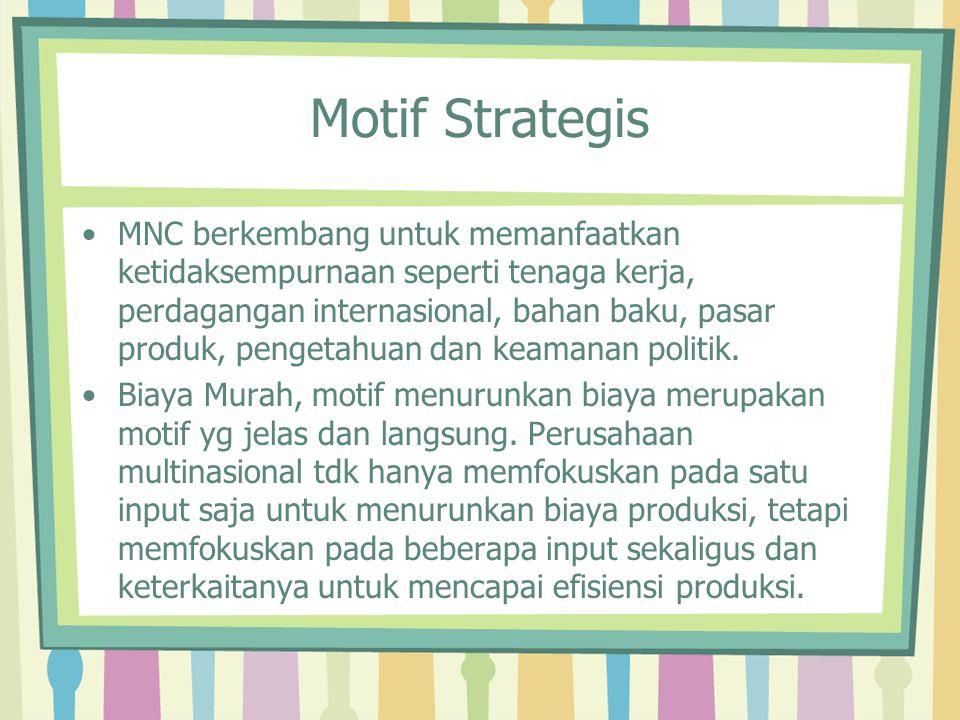 Motif Strategis