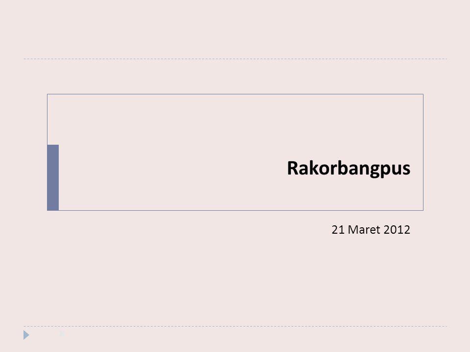 Rakorbangpus 21 Maret 2012