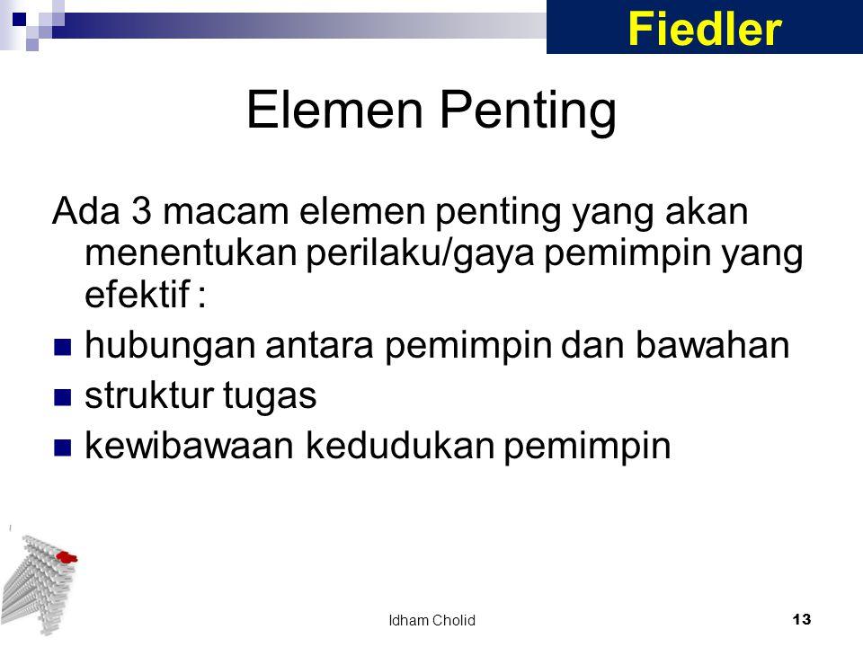 Elemen Penting Fiedler