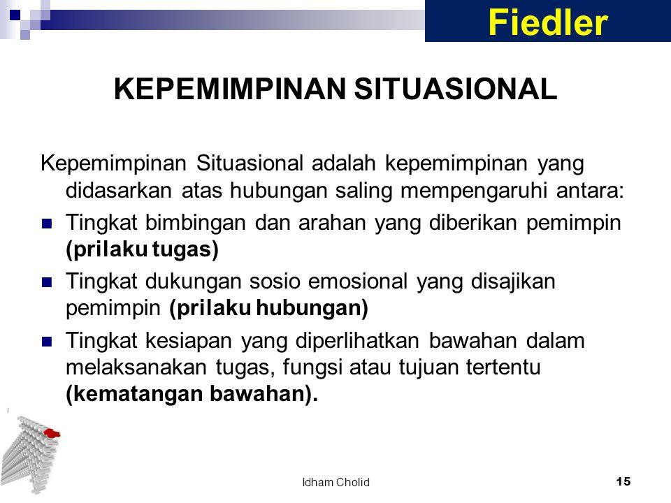 KEPEMIMPINAN SITUASIONAL