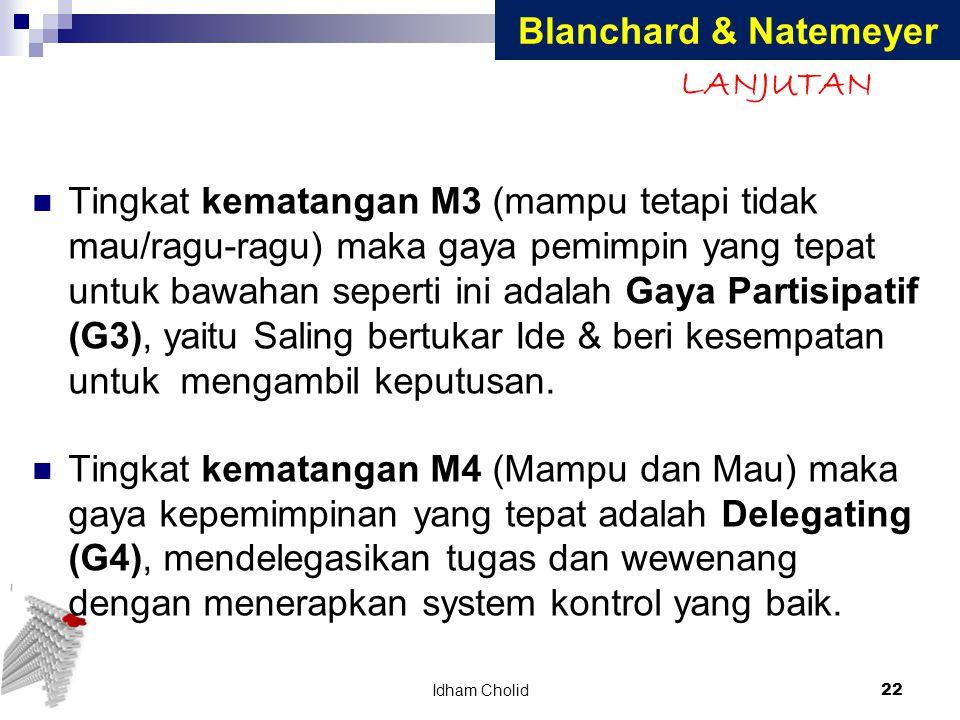 Blanchard & Natemeyer LANJUTAN