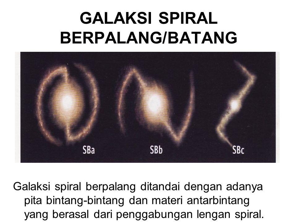 GALAKSI SPIRAL BERPALANG/BATANG
