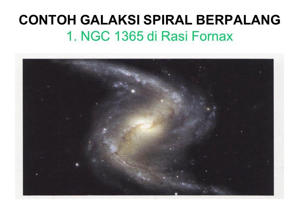 CONTOH GALAKSI SPIRAL BERPALANG 1. NGC 1365 di Rasi Fornax