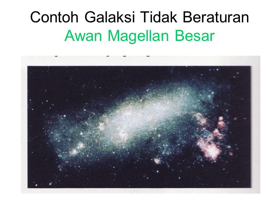 Contoh Galaksi Tidak Beraturan Awan Magellan Besar
