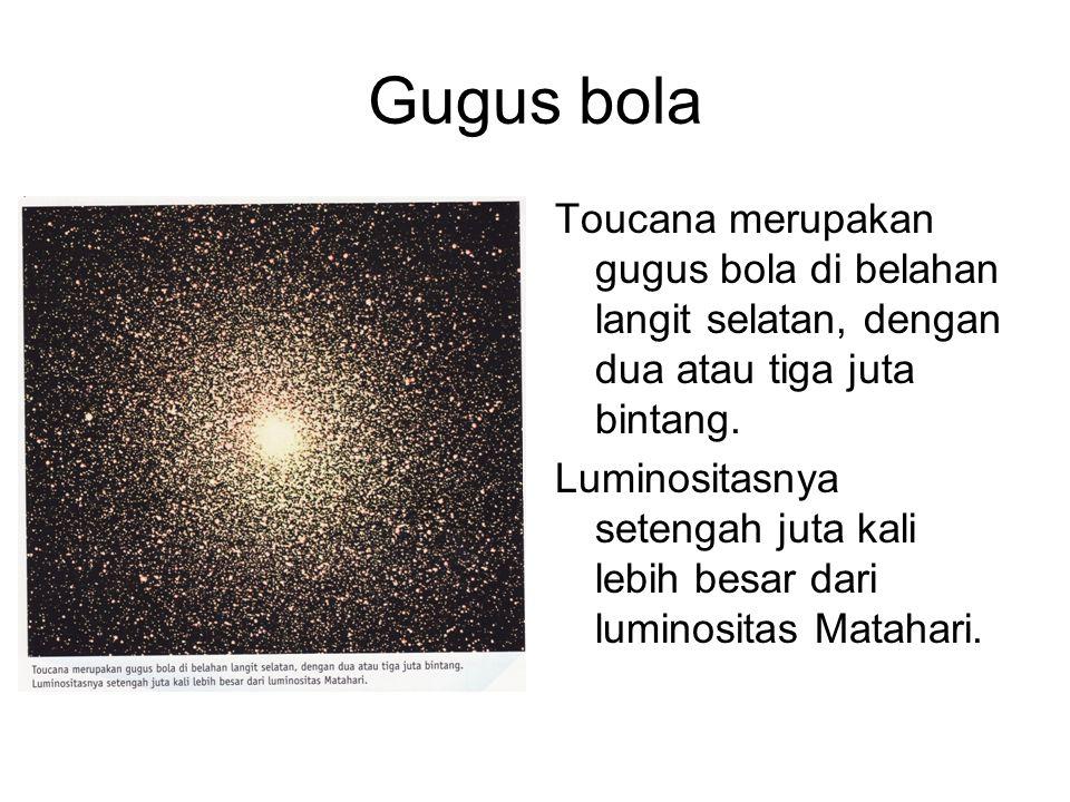 Gugus bola Toucana merupakan gugus bola di belahan langit selatan, dengan dua atau tiga juta bintang.