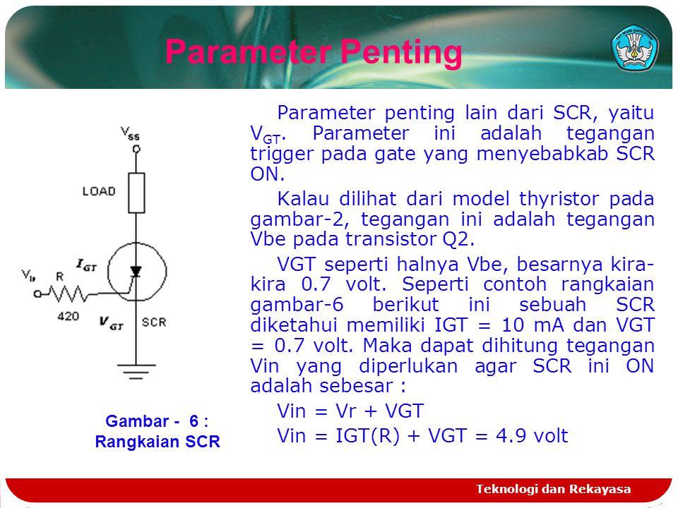 Gambar - 6 : Rangkaian SCR