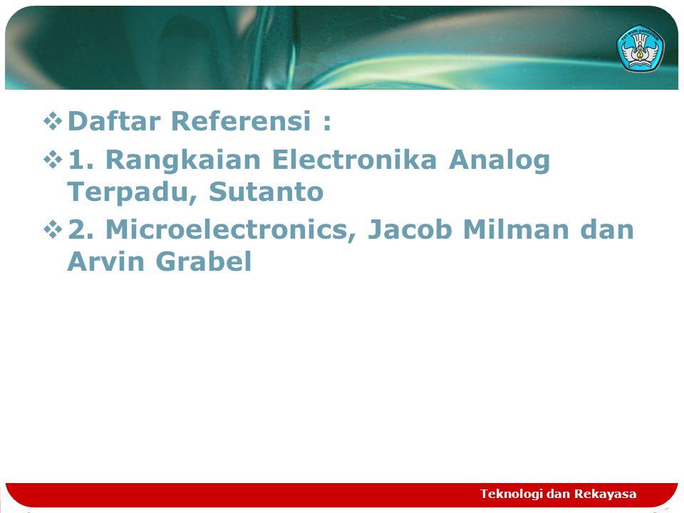 1. Rangkaian Electronika Analog Terpadu, Sutanto