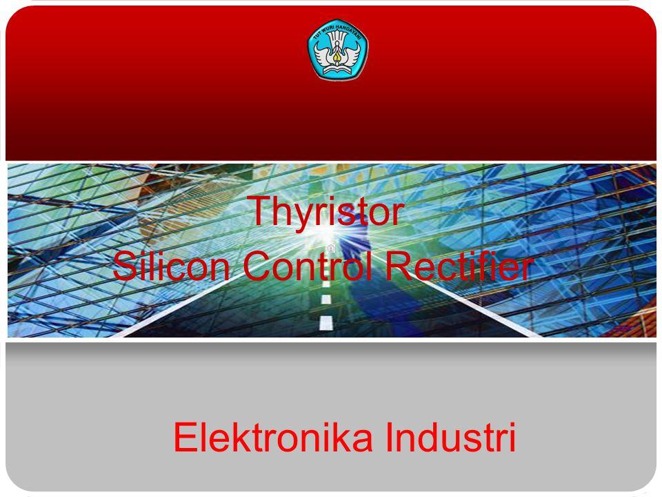 Thyristor Silicon Control Rectifier Elektronika Industri