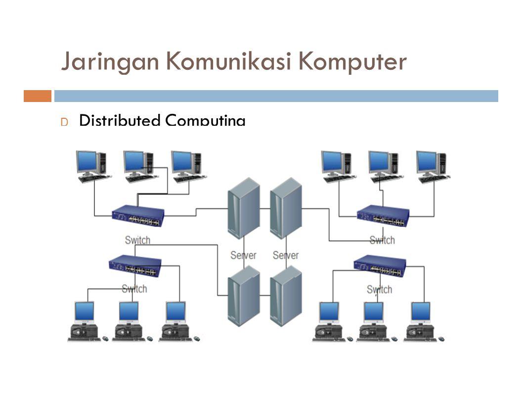 Jaringan Komunikasi Komputer
