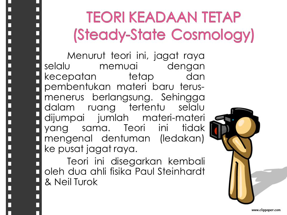 TEORI KEADAAN TETAP (Steady-State Cosmology)
