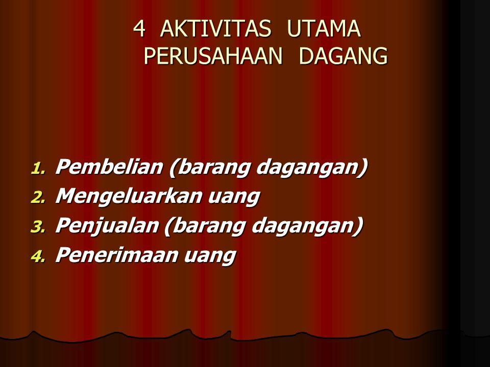4 AKTIVITAS UTAMA PERUSAHAAN DAGANG