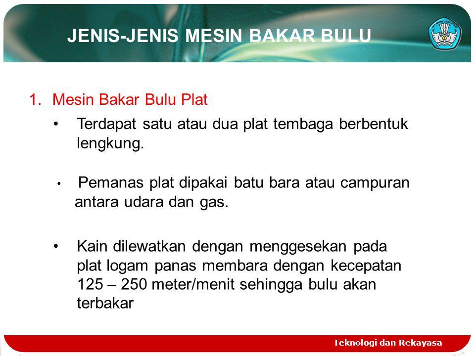 JENIS-JENIS MESIN BAKAR BULU