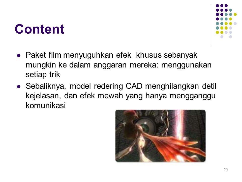 Content Paket film menyuguhkan efek khusus sebanyak mungkin ke dalam anggaran mereka: menggunakan setiap trik.