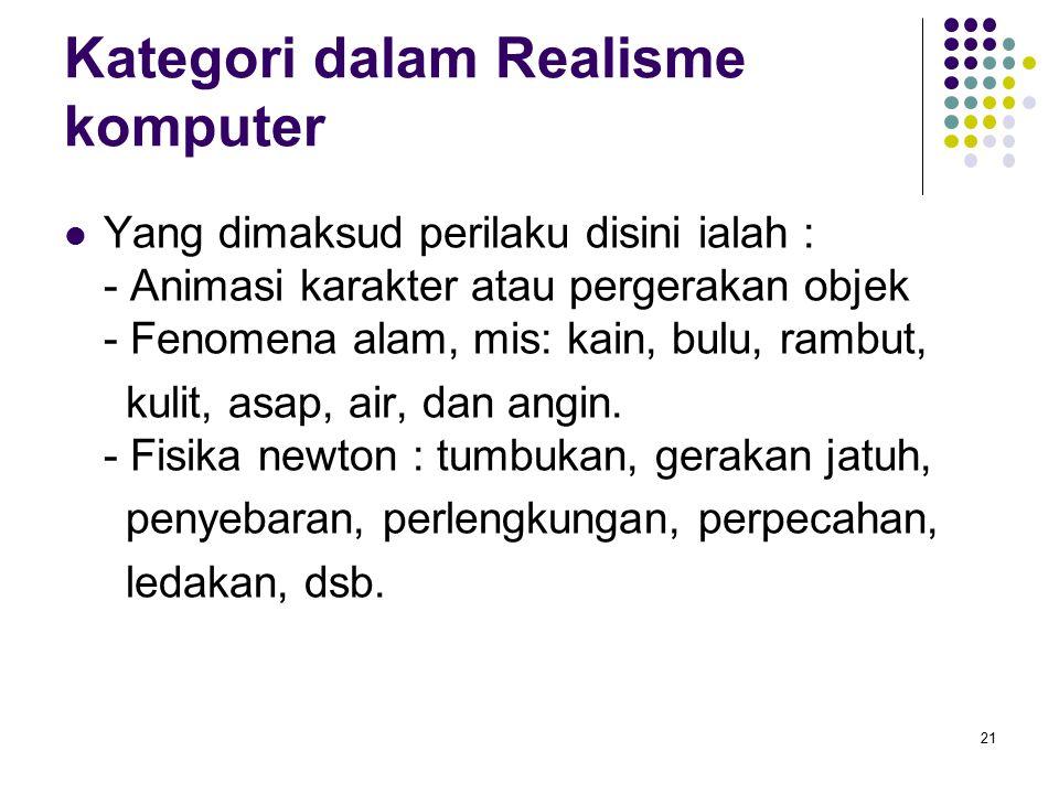 Kategori dalam Realisme komputer