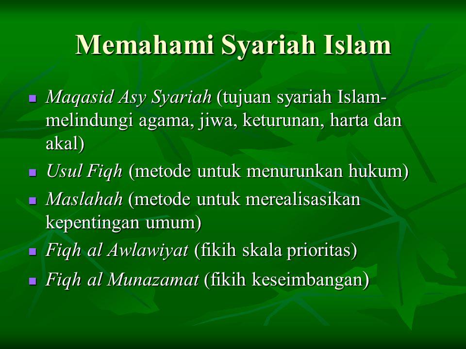 Memahami Syariah Islam