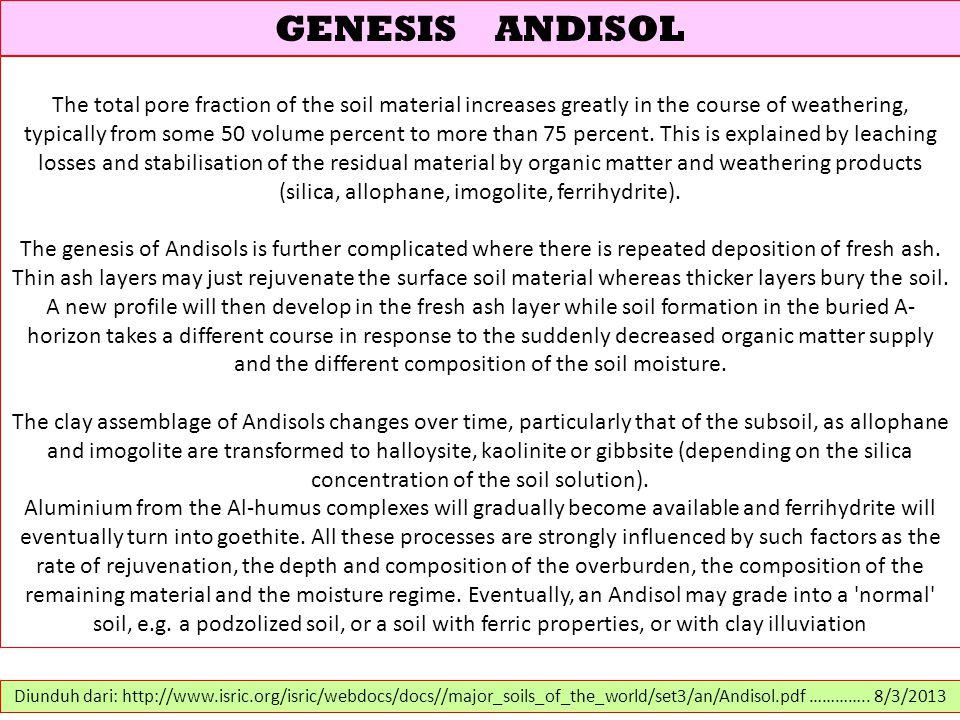 GENESIS ANDISOL