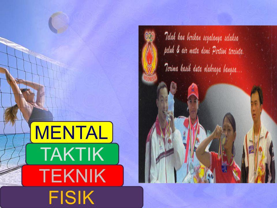 MENTAL TAKTIK TEKNIK FISIK