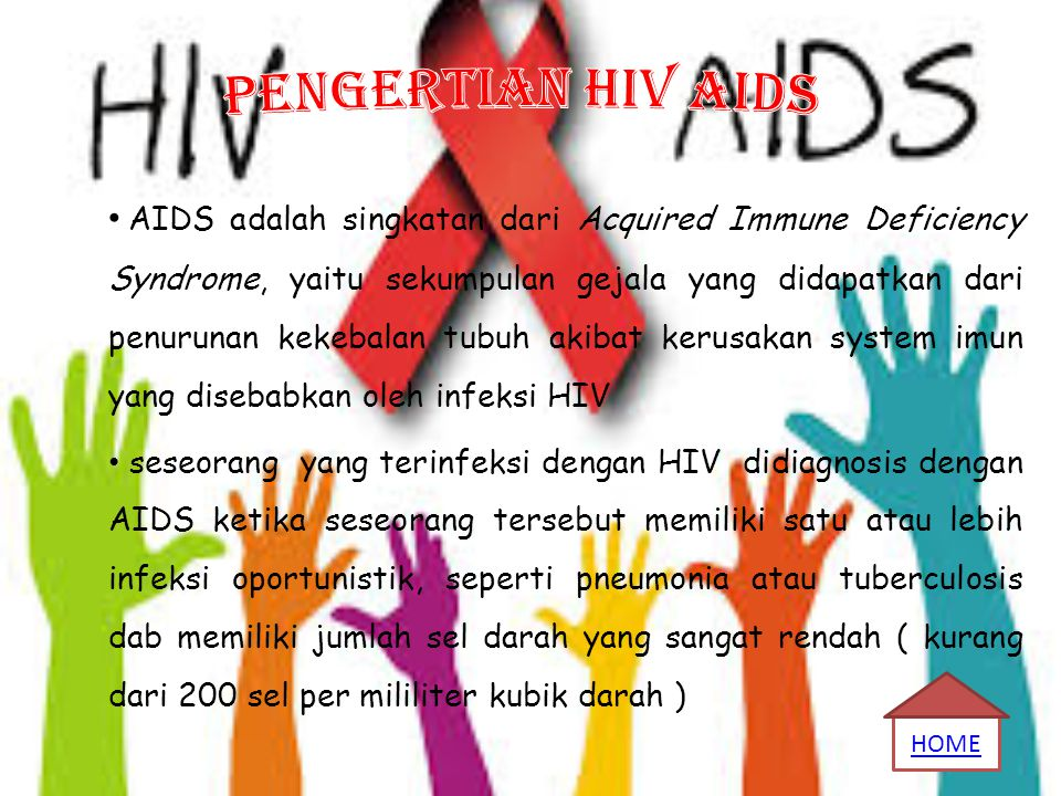 PENGERTIAN HIV AIDS