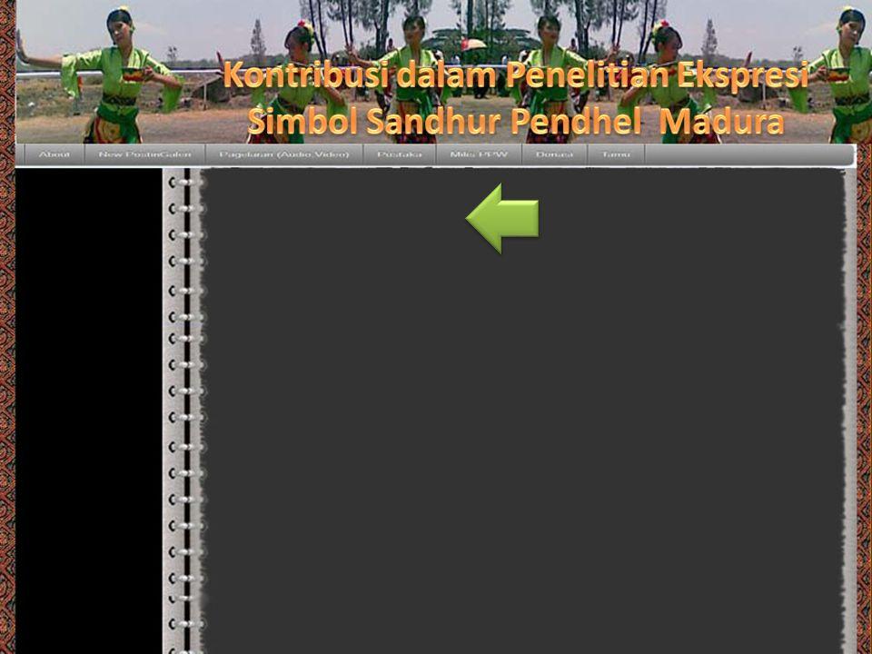 Kontribusi dalam Penelitian Ekspresi Simbol Sandhur Pendhel Madura