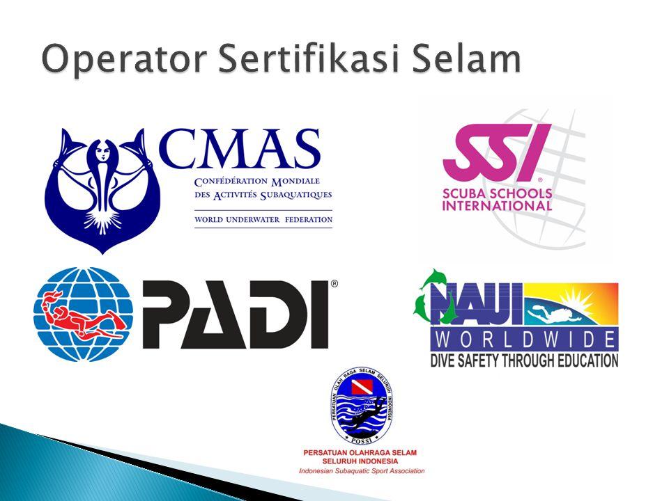 Operator Sertifikasi Selam