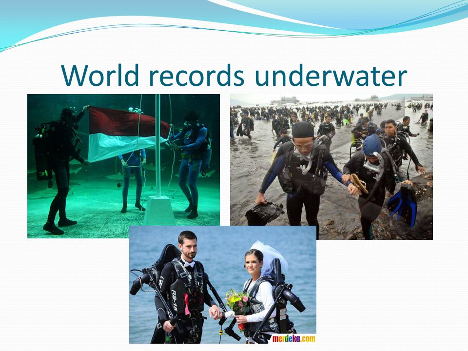 World records underwater