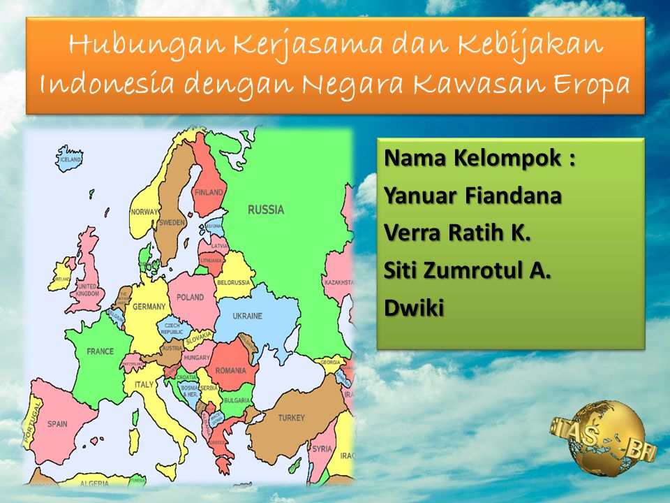 Hubungan Kerjasama dan Kebijakan Indonesia dengan Negara Kawasan Eropa