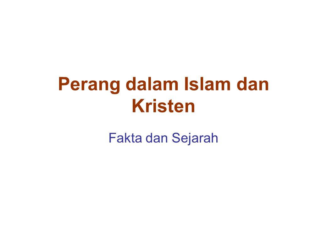 Perang dalam Islam dan Kristen